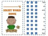 sight word practice book bundle pack