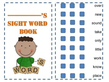 sight word practice book second hundred