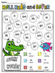 sight words roll read color (or cover )
