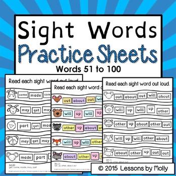 sight-words-practice-words 51-100