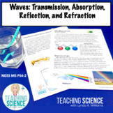 Waves: Transmission, Absorption, Reflection NGSS MS PS4-2