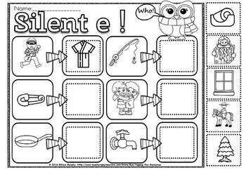 silent e activities
