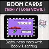 silent e long vowel /i-e/ BOOM CARDS digital resource Long