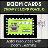 silent e long vowel /o-e/ BOOM CARDS digital resource Long