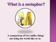 similes, metaphors and idioms