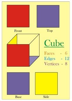 simple 3D shapes