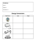 simple energy conversions