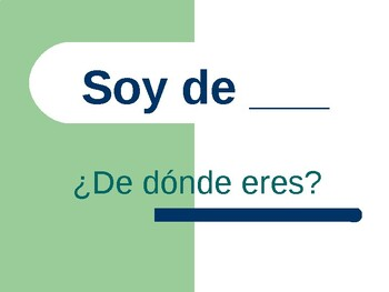 simple questions and answers and subject pronoun practice ( Spanish 1)