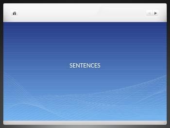 simple sentence ppt using PENS