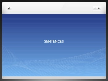 simple sentence ppt using PENS