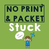STUCK *PRINT & GO* Speech Therapy Companion: Phonology|Voc