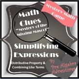 Simplifying Expressions Game {Algebra Games} {Algebra Activities} {CSI Math}