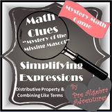 Simplifying Expressions Using Distributive Property and Co