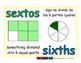sixths/sextos meas 1-way blue/verde