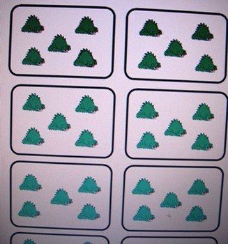 skip counting by 5's with dinosaurs