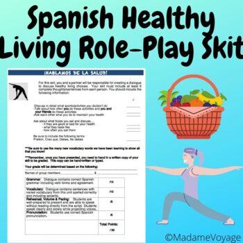 skit for Realidades chapter 3B level 1 Spanish