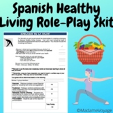 skit for Realidades chapter 3B level 1 Spanish