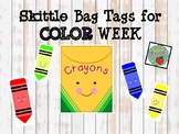 Skittles Bag Tags for Color Week
