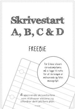 skrivestart freebie