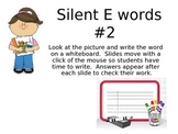 Silent e picture powerpoint #2 for Kindergarten