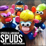 Spuds {Games and Activities for Speech & Language Therapy}