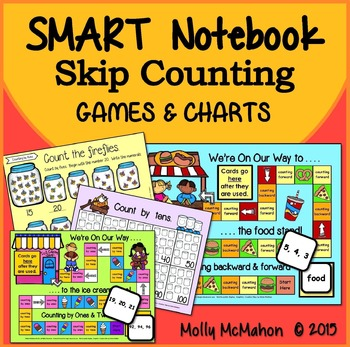 Skip Counting Games SMART Notebook