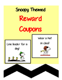Snoopy Themed Reward Coupons