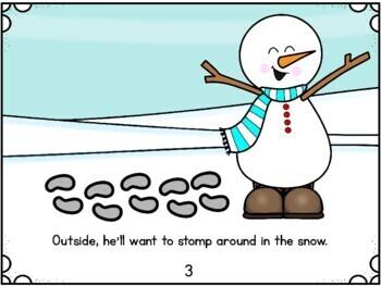Winter Activities: Snowman Activity packet