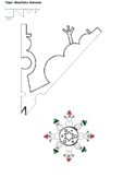 snowman snowflake pattern