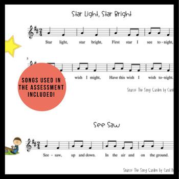so-mi Worksheet | Music Assessment & Songs