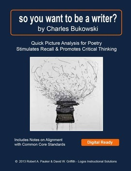"""""""so you want to be a writer?"""" by Charles Bukowski: Quick Picture Analysis"""