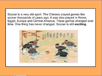 "soccer ""the simple sport"""