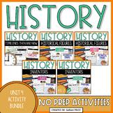Social Studies Interactive Journal Unit 4: History