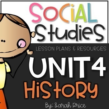 Social Studies Interactive Journal Unit 4: History