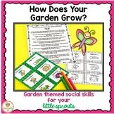 Social Skills Activities Garden Spring