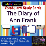 The Diary of Ann Frank Academic Vocabulary Cards