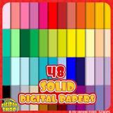 solid digital paper in 48 colors, black, gray, neutral .jp
