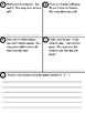 story problems pretest, posttest, and retest