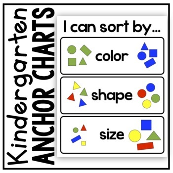 Sorting Anchor Chart