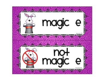 sorting syllable types: magic e or not
