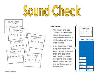 sound check - jolly phonics