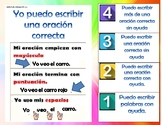 spanish 1st grade I can statement and scale