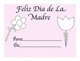 spanish Mothers Day Book-Feliz dia de la madre libro