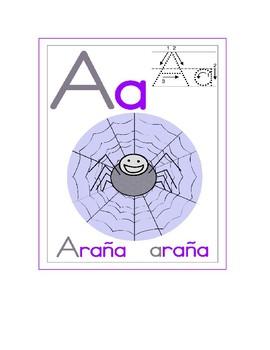 spanish alphabet / alfabeto español