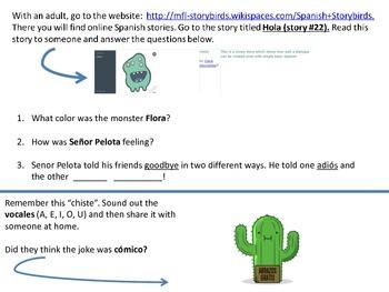 online spanish homework