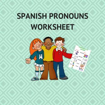 spanish pronouns / pronombres en español.