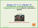 2nd year spanish asi se dice Repaso B,C, & D Lesson 2 on p