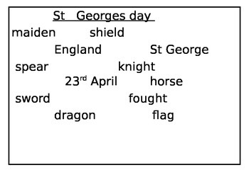special days - Rememberance day, New year, st george day, VE  day, bonfire night