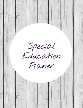 special education planer 2018-2019