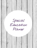 special education planer-printable